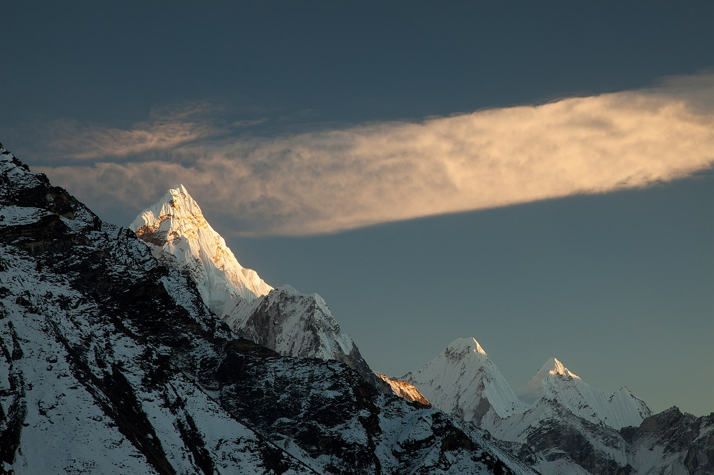 Ama Dablam Sunset, photo