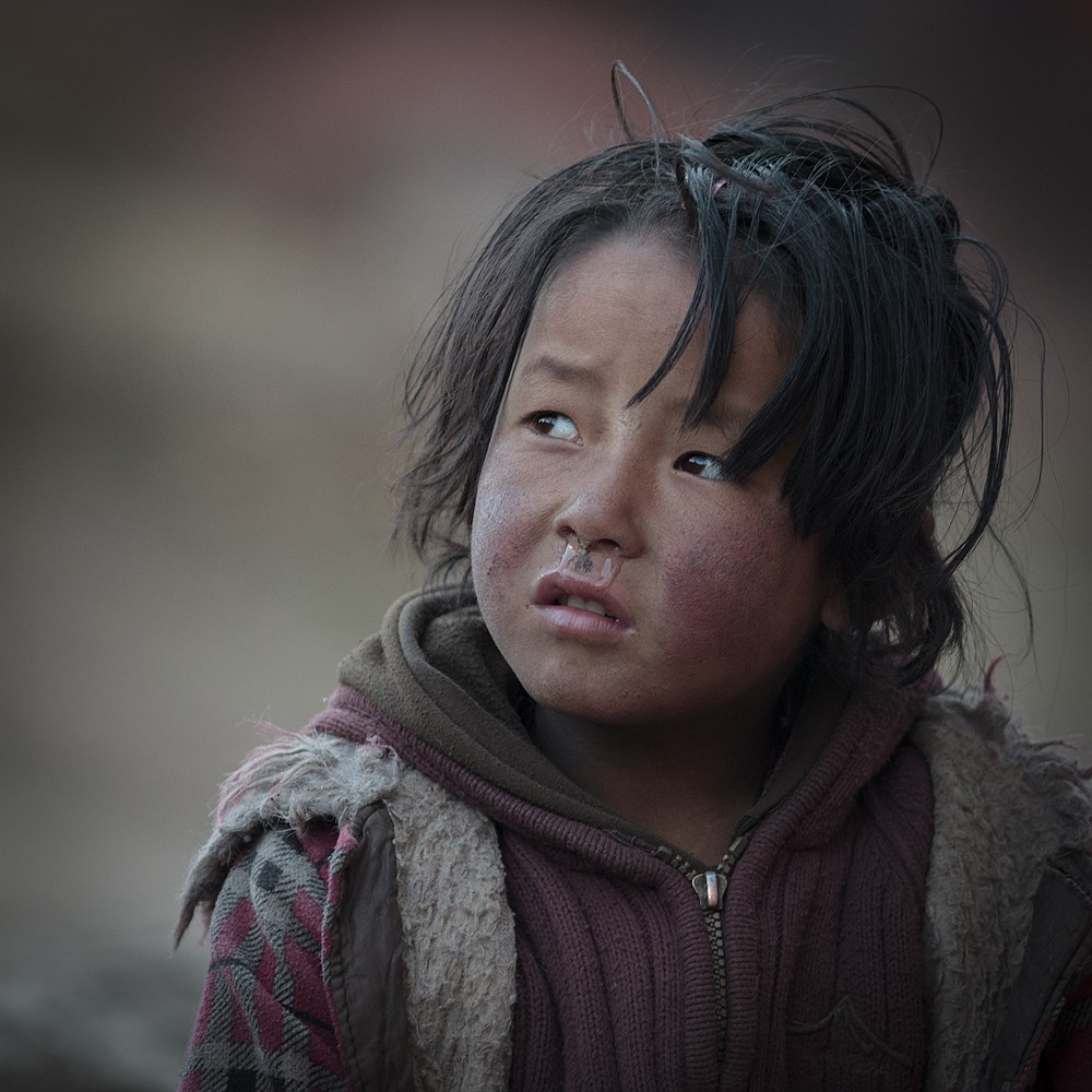 Child in Samdo, photo