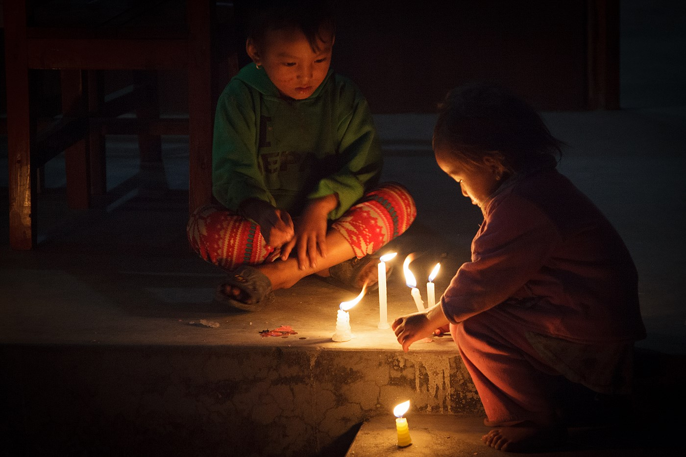 Tihar - festival of light, photo