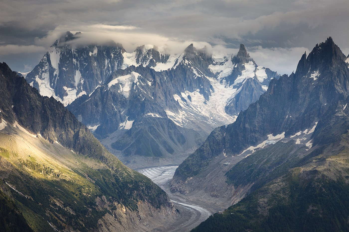 Grandes Jorasses, photo