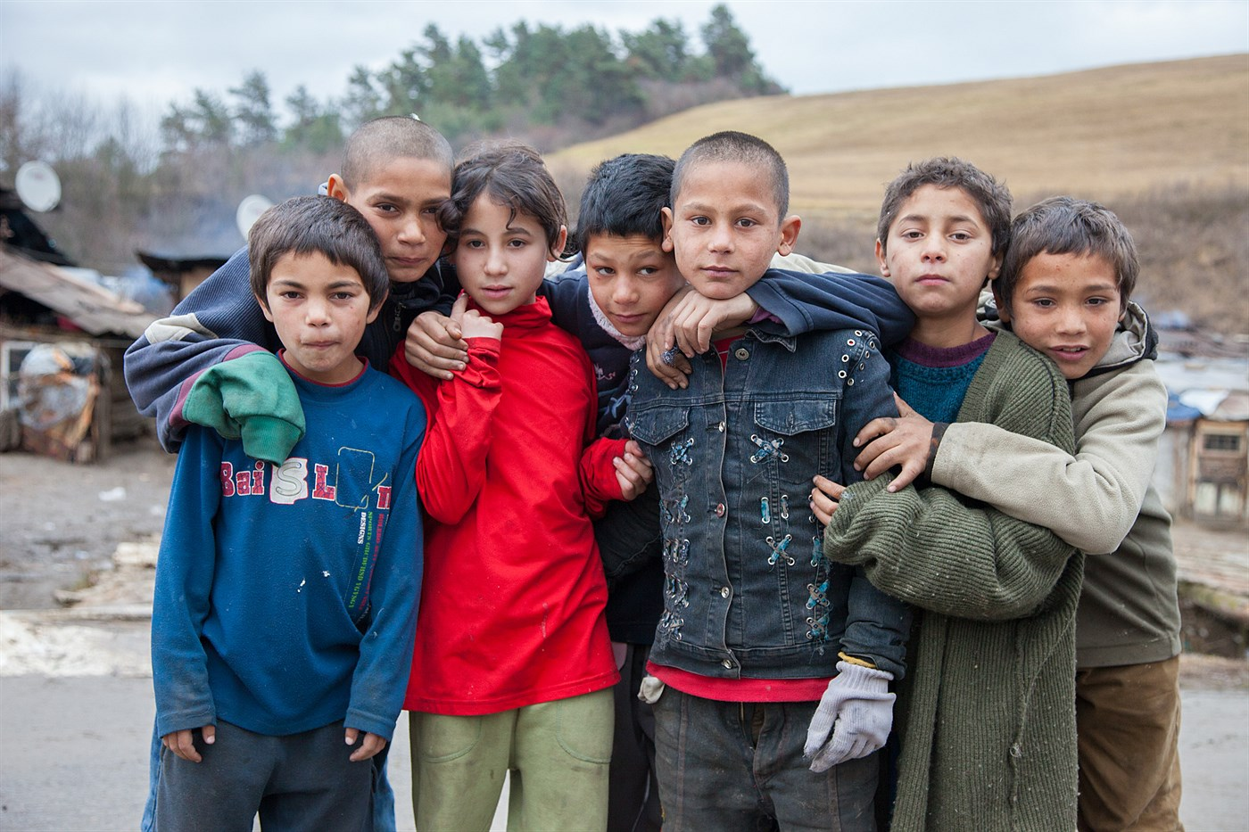 Gypsy Children, photo