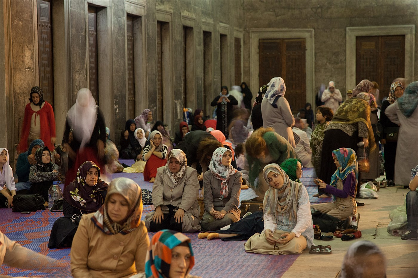 Mass in Sultan Ahmed, photo