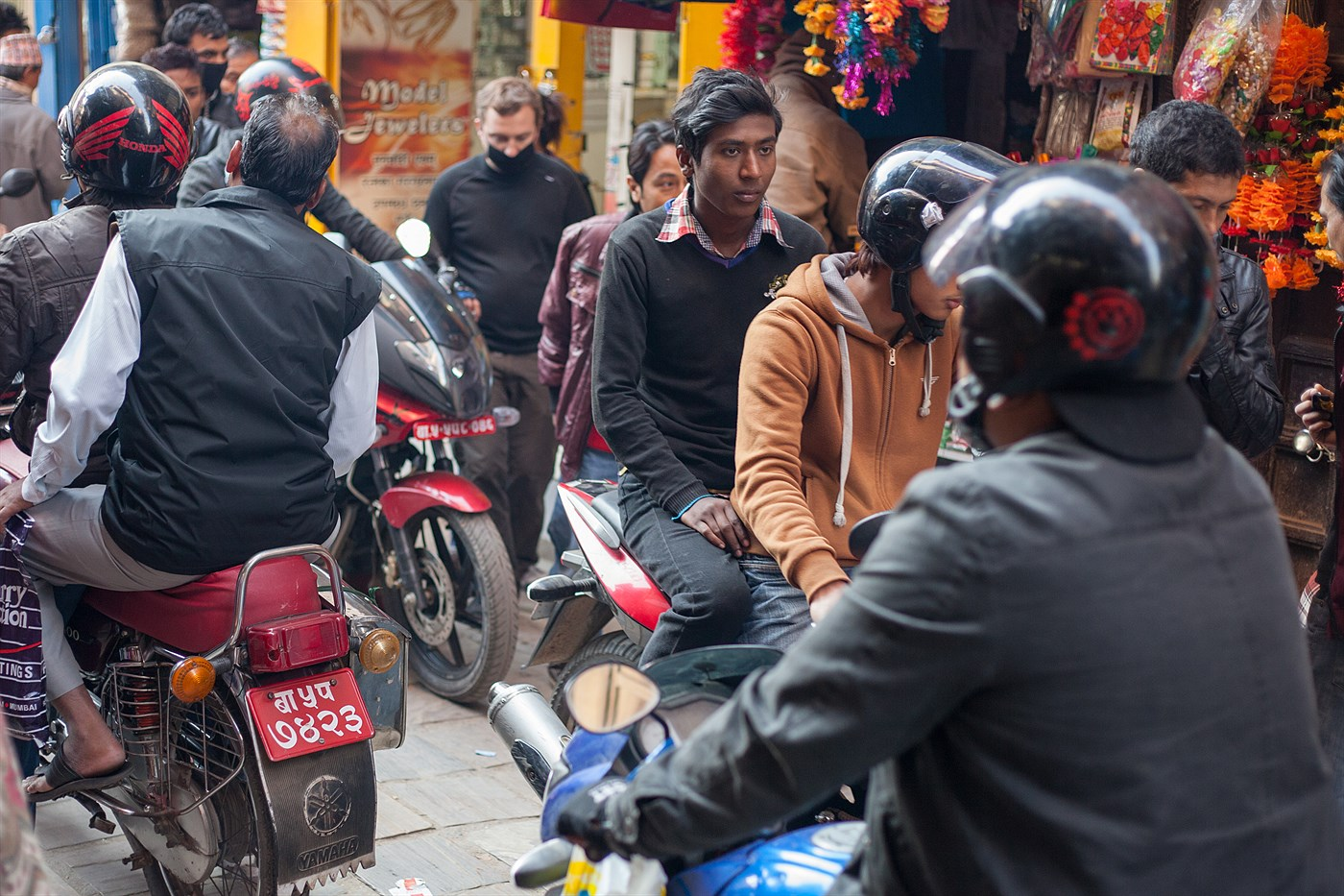 Daily Traffic in Kathmandu, photo