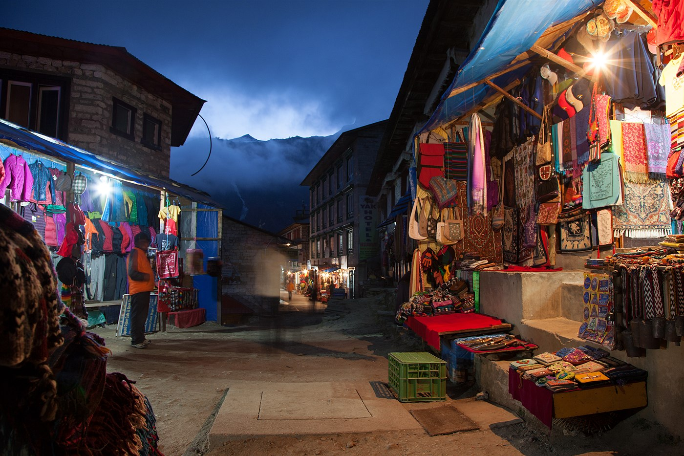Namche Bazaar, photo