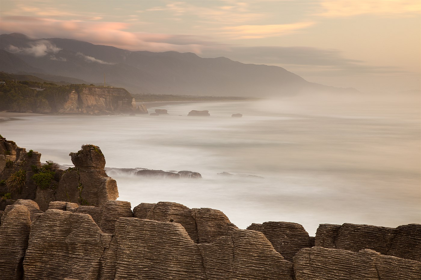 Pancake Rocks, photo