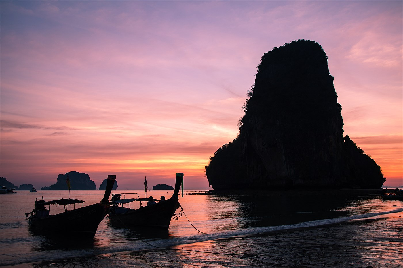 Pláž v Railay, photo