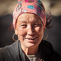 Woman in Ghyaru