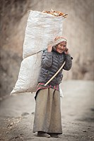 Woman in Muktinath