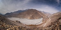 Panorama of Mustang Valley